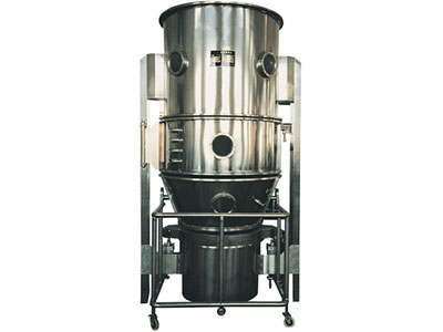 Optional granulator fluid bed which is used for small batch production