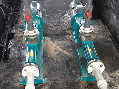 NETZSCH screw pump imported from Germany